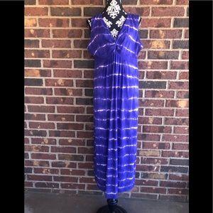 Chico Brand tie dye amethyst sundress size 3( 16)